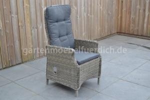 Modena verstellbarer Stuhl Kobo Grey