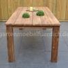 Bali Teak Tisch mit 6 San Jose Dining Stühlen 5