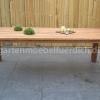 Bali Teak Tisch mit 6 San Jose Dining Stühlen 3
