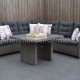 Cordoba verstellbare Lounge Kobo Grey
