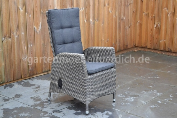 Bologna verstellbarer Stuhl Two Tone Grey