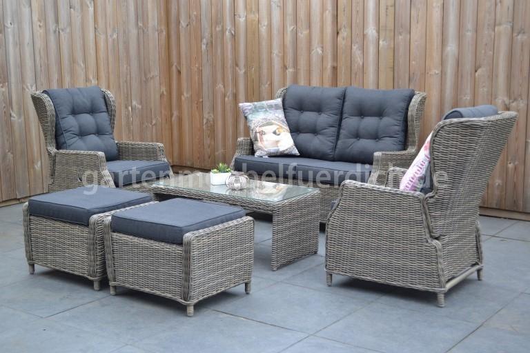 valencia verstellbares lounge set garten m bel f r dich. Black Bedroom Furniture Sets. Home Design Ideas