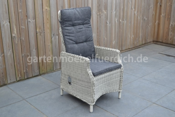 Modena verstellbarer Stuhl Light Kobo Grey