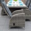 Bologna Tisch mit 6 Bologna Verstellbare Geflecht-Stühle 7