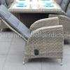 Bologna Tisch mit 6 Bologna Verstellbare Geflecht-Stühle 8