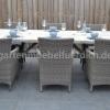 Wales Tisch 220 mit 6 Sato Dining Stühlen Mixed Kobo 2