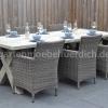 Wales Tisch 220 mit 6 Sato Dining Stühlen Mixed Kobo 3