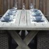 Wales Tisch 220 mit 6 Sato Dining Stühlen Mixed Kobo 4