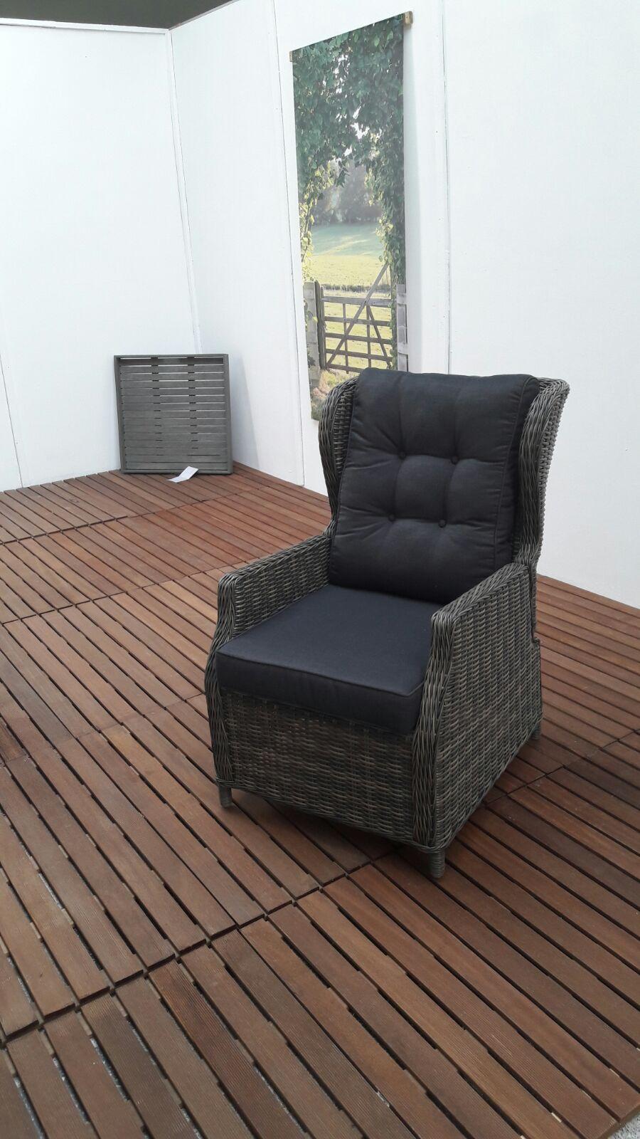 valencia verstellbarer dining sessel sandgrau garten m bel f r dich. Black Bedroom Furniture Sets. Home Design Ideas