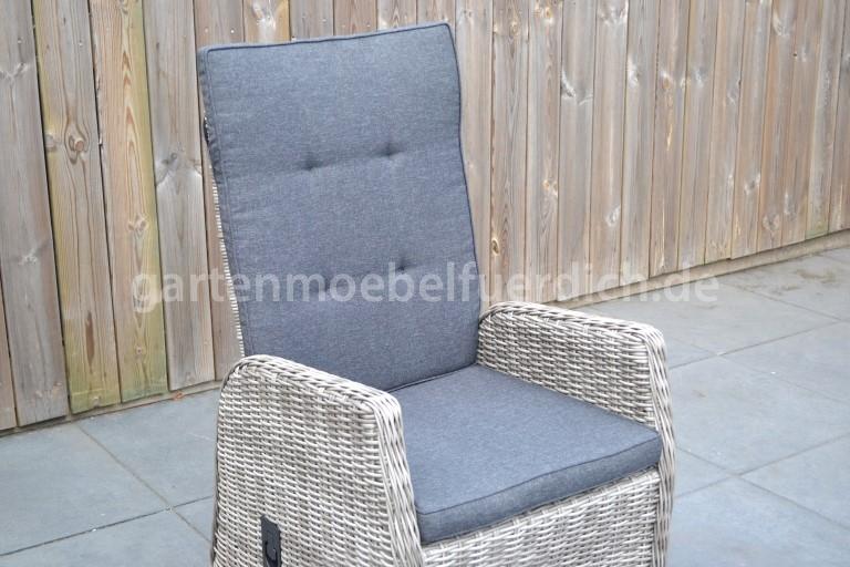 New hampshire verstellbarer dining stuhl naturgrau for Sessel gray 07